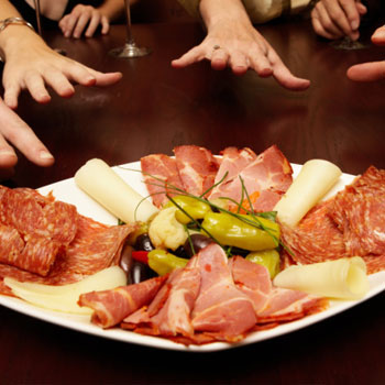 Antipasto of Italy