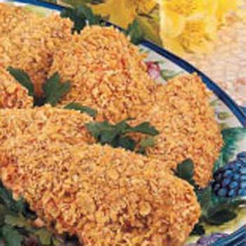 Cereal-Coated Chicken