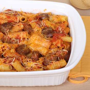 Hearty Ziti with Italian Sausage
