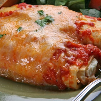 Chicken Tender Manicotti