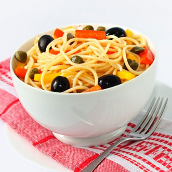 Cold Veggie and Pasta Salad
