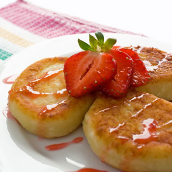 Cottage Cheese Dessert Pancakes