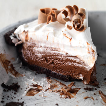 Chilly Chocolate Pie