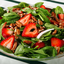 Low Sodium Strawberry & Spinach Salad