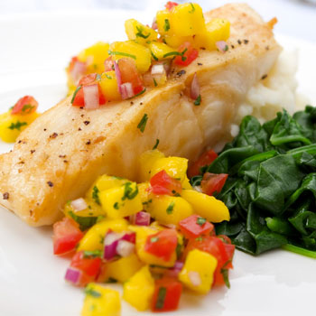 Grilled Red Snapper with Salsa