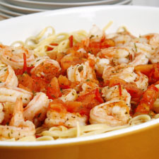 Baked Spicy Shrimp