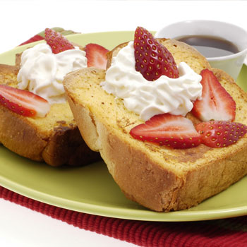 Fruit & Cream French Toast