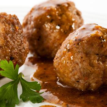 Fondue Meat-Globes