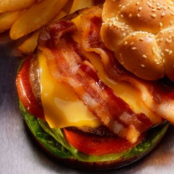 Cheddar Bacon Burger