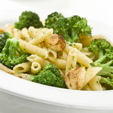 Bacon-Brocolli Rigatoni