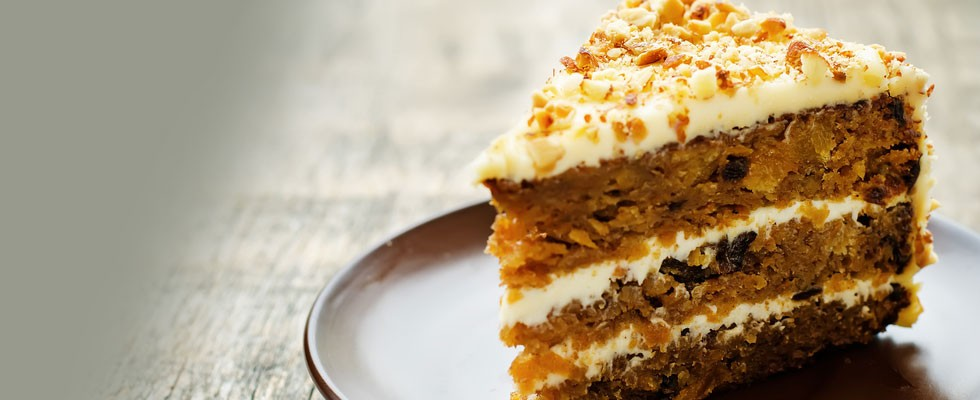 Treat Yourself to Carrot Cake!