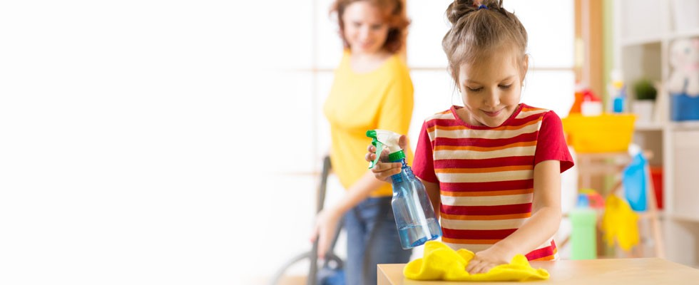 Spring Cleaning? Kid-Safe Products