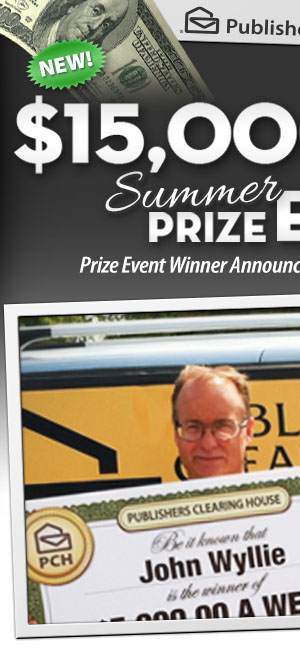 Publishers Clearing House - Win $7,OOO.OO A Week For Life!